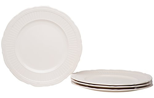 Red Vanilla FE900-401 Tuscan Villa Dinner Plates (Set of 4), 11