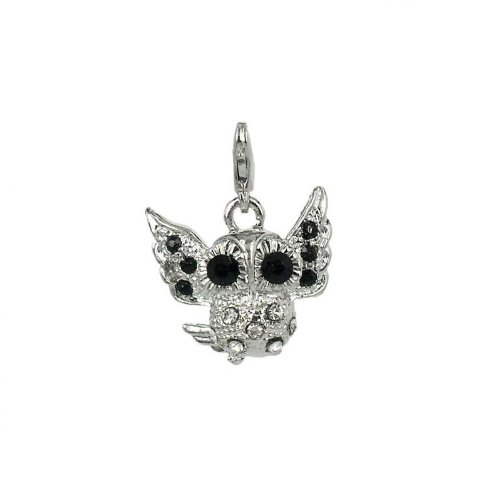 Charm Eule aus Stahl by Charming Charms
