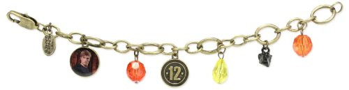 "The Hunger Games Movie Bracelet Charm ""Peeta District 12"""