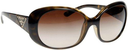 Prada Women's 27l Tortoise Frame/Brown Gradient Lens Plastic Sunglasses