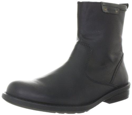 Gant HAYNES BLK/D.GRY CRAZY H. LEA Chelsea Boots Mens Black Schwarz (black dark grey) Size: 10 (44 EU)