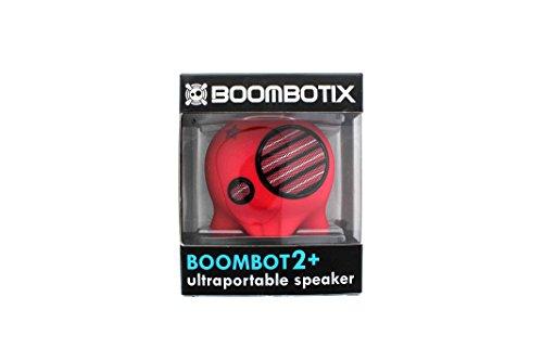 Boombotix Boombot2+ Ultraportable Speaker (Red)