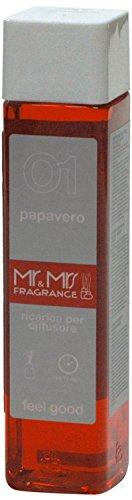 Mr&Mrs easy fragrance 001 Hawaii papavero 詰め替えボトル300ml