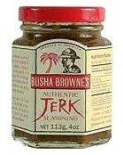 Busha Brownes Authentic Jerk Seasoning 4 Oz