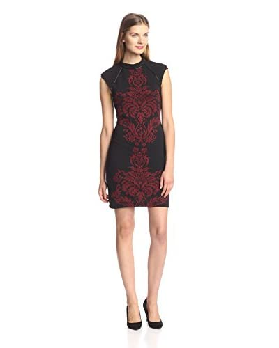 A.B.S. by Allen Schwartz Women's Printed Front Sheath Dress