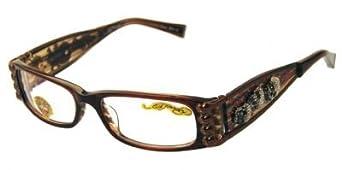 Amazon.com: ED HARDY EHO712 Eyeglasses Vintage Tattoo EHO ...