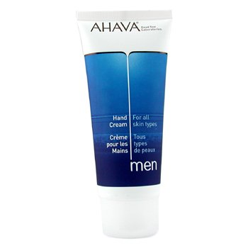 Ahava Men Hand Cream ( All Skin Types ) - 100ml/3.4oz