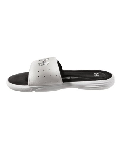 Under Armour Men'S Ua Ignite Iii Slides 11 White front-1041683