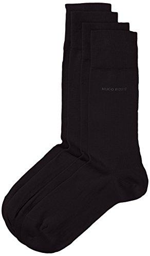 BOSS Hugo Boss - Twopack RS Uni 10112280 01, Socken Uomo, Nero (Black 1), 47/50 (Tallia Produttore: 47-50), Black 1, 39-42