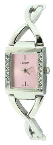 Ladies Citron Jewellery Watch  Stone Set bezel