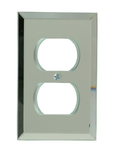Amerelle 66D Mirror Finish 1 Duplex Wallplate, Mirror Finish