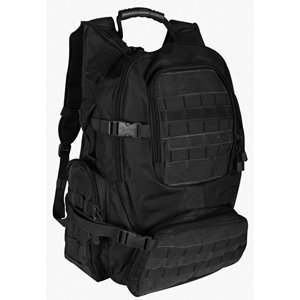 Tactical 72 Hour Survival Bug Out Bag Emergency Kit With Fox Tactical Field Operator'S Action Pack Loaded With Food, Water & Supplies, Including Leatherman, Coghlan'S, Sos Food Lab, Star Mres & More - Great For Load Out Combat Teotwawki War Tactical Assau