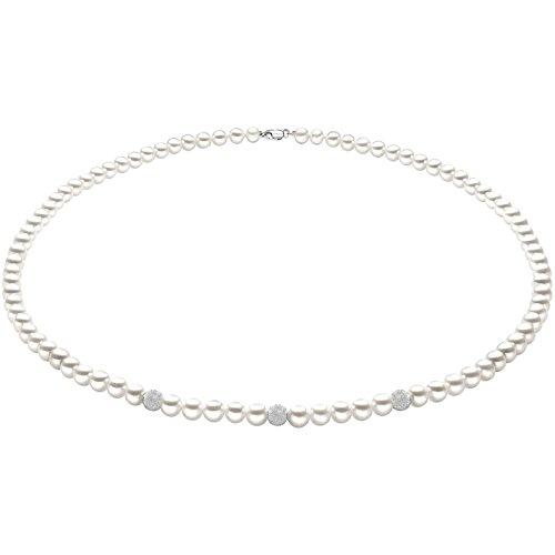 collana donna gioielli Comete Perla elegante cod. FWQ 193 B