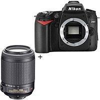 Nikon D90 Digital SLR Camera with 55mm - 200mm f/4-5.6G ED AF-S DX Zoom Lens U.S.A. Warranty