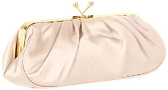 Jessica McClintock 661690 Clutch,Champagne,one size