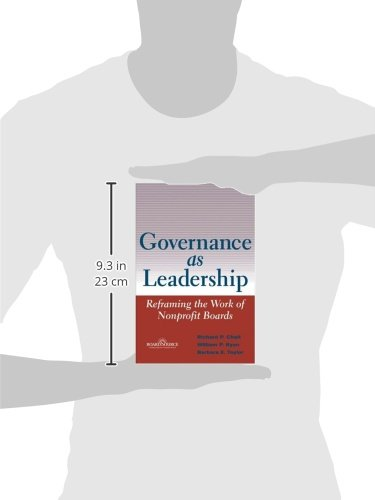 governance as leadership reframing the work of nonprofit boards pdf