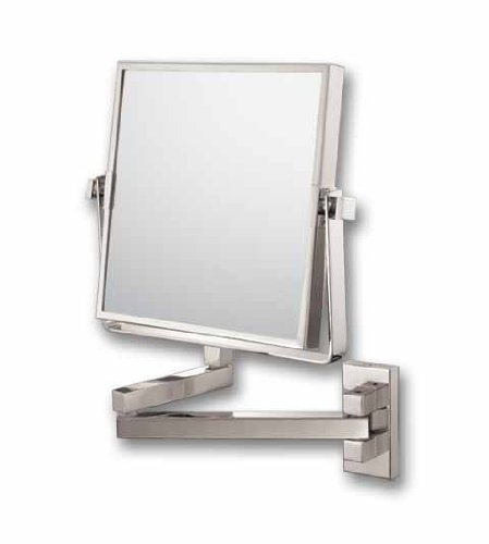 Kimball Young Square Double Arm Wall Mirror 24073 front-378097