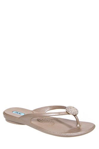Lucky Jelly Flat Thong Sandal