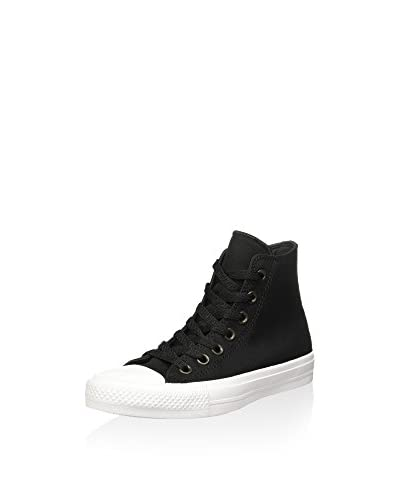 Converse Zapatillas abotinadas Chuck Taylor All Star II Negro / Blanco