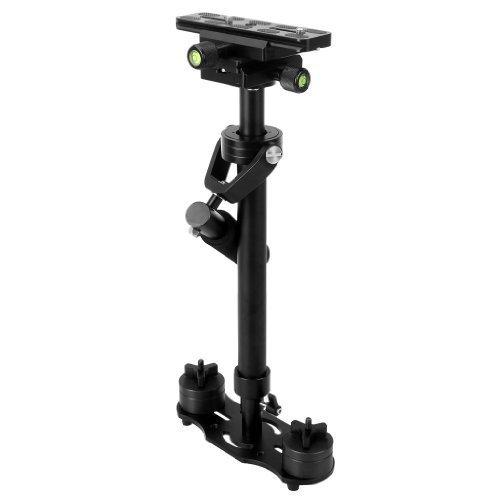 Floureon Mini Stabilisateur Main Libre Pro Support épaule Max 60cm pour camera DSLR DV caméscope video Sony Canon Samsung Nikon Pentax Olympus Fuji