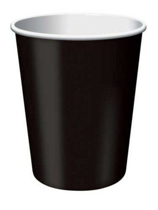 Black Velvet 9 Oz Paper Hot Cups 24/Pack