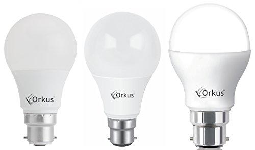 BHK-7W,-9W-&-12W-Led-Bulb-(Cool-Day-Light,-Set-of-3)