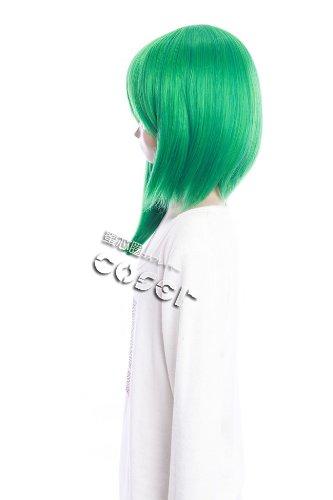 Imagen 3 de CosplayerWorld Project Touhou Shikieiki Yamazanadu Peluca Cosplay Anime Japones De Descuento 46cm 18inch Accesorios Cosplay
