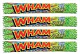 Wham Chew Bar Sour Apple - 10 Pack