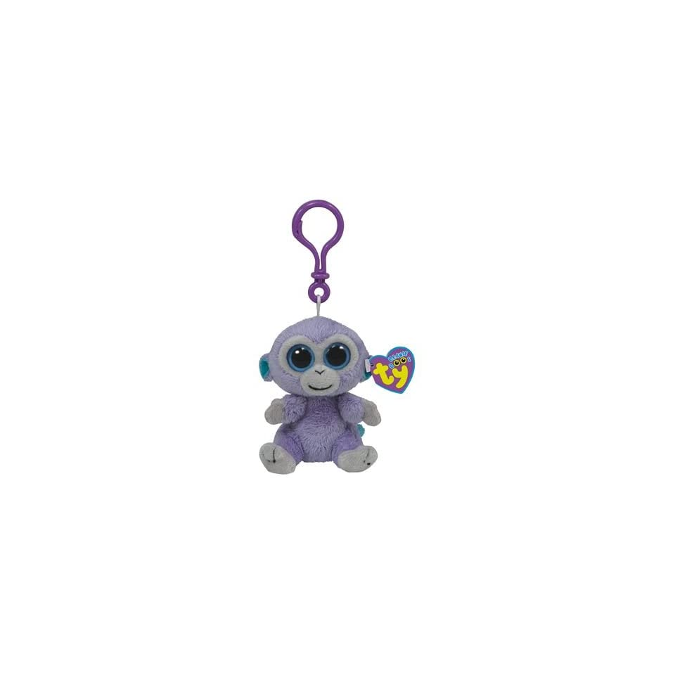 0213893dbbc Ty Beanie Boos Blueberry Clip the Monkey on PopScreen