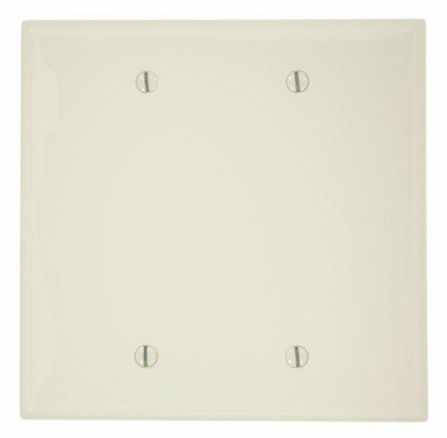 leviton-pj23-t-2-gang-no-blank-wallplate-midway-size-light-almond-by-leviton