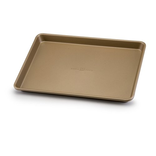 Paula Deen Signature Nonstick Bakeware 9-Inch-by-13-Inch Cookie Sheet, Champagne (Paula Deen Yellow Cookware Set compare prices)