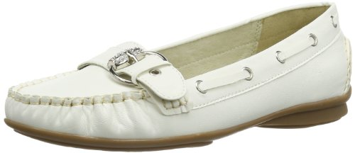 Andrea Conti Womens 0873010 Moccasins White Weià (weià 001) Size: 37