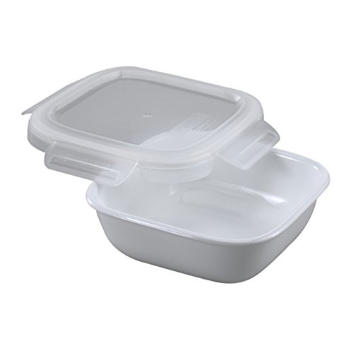 Corelle Bake, Serve, Store 3.5 Cup Square Baker w/ Snapware Lid (Corelle Bake And Serve compare prices)