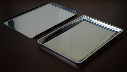 Deluxe 2 (two) Stainless Steel Bakeware Set