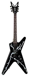 Dean Dimebag Guitar, Black Bolt