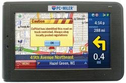 Portable Garmin Gps With Truck Routes Pcm430 Navigator