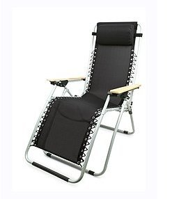New Garden Gear Black Ultimate Zero Gravity Chair The Comfort of A Hammock In a Sturdy Reclining Chair