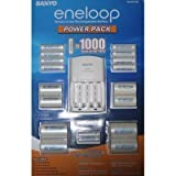Sanyo-277265-Eneloop-Power-Pack-with-Battery-Charger-8-AA--2-AAA-Batteries-Plus-4-C--4-D-Size-Adapter-CostCo-Kit-2