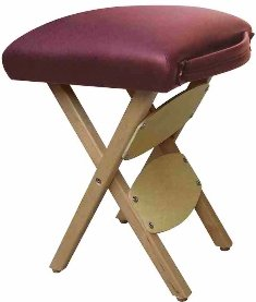 Therapist's Choice® Wooden Folding Massage Stool