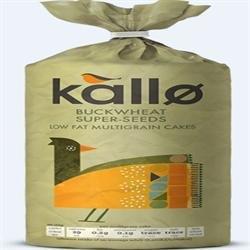 Kallo Sarrasin Galettes de riz 130g x 24