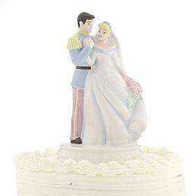 Cinderella Amp Prince Charming Wedding Cake Topper