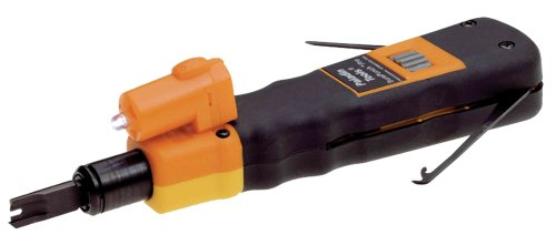 Paladin 3588 SurePunch Pro Punchdown Tool with 110/66 Blade and Detachable Light