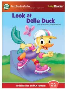 """""""Look at Della Duck"""" features initial blends and CK pattern (cl, fl, tr, ck)"""