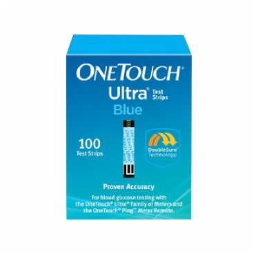 One Touch Ultra Blue Test Strips 100 Count (One Touch Ultra Blue Test Strips compare prices)