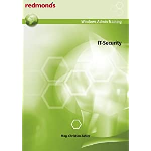 eBook Cover für  IT Security redmond 39 s Windows AdminTraining