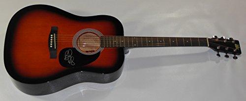 brad-paisley-mud-on-the-tires-authentic-signed-autographed-full-size-sunburst-acoustic-guitar-loa