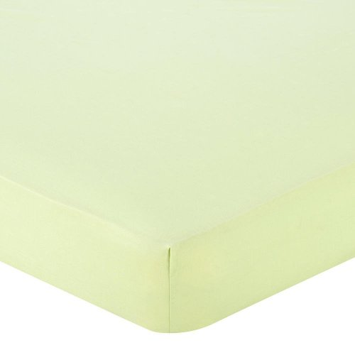 Babies R Us Fuzzy Brushed Crib Sheet - Sage - 1