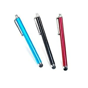 Three-pack of tablet styluses