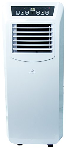 North Storm Portable Air Conditioner, 4-In-1 Heater, Fan, Dehumidifier, AC - 14,000 BTU - White (Stand Alone Ac Unit compare prices)
