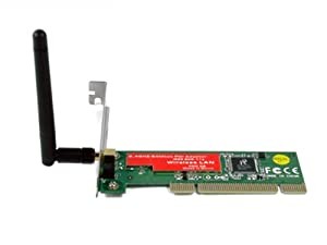 Esky® 802.11n/g/b Wireless WIFI PCI Adapter Card For Desktop